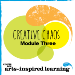 "The award of this badge, ""Behavior Management: A Guide to Creative Chaos,"" is the third module in the Center for Arts-Inspired Learning's (CAL) teaching artist professional development series that provides attendees an understanding of the ages and stages of all learners and adaptation skills for arts activities using the Universal Design for Learning. The earner has recognized physical, cognitive, social, and literacy development benchmarks specific to the different ages of students and has demonstrated an understanding of the students they will likely encounter to help determine ways to help manage their behaviors through the arts."
