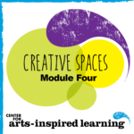 The award of this badge addresses the needs displayed from the growing trend of out-of-school time programming. The unique challenges of out-of-school time programming present a need for teaching artists to quickly adapt in multiple roles as a mentor, teacher, artist, and caregiver. Through this Module 4 workshop, the earner gained tools to confidently provide and support creative programming to youth across multiple age bands and settings.